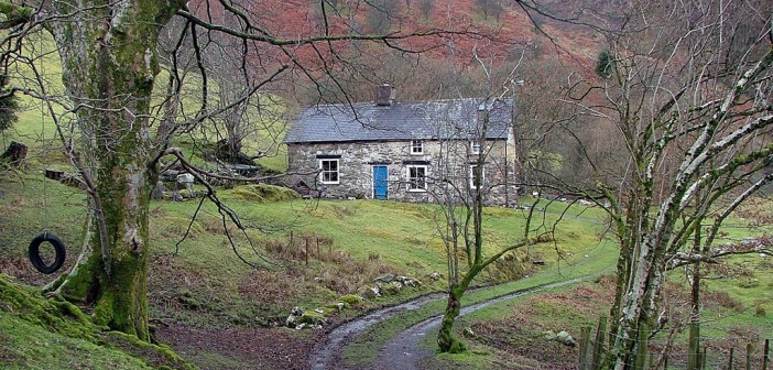 Led Zeppelin at the Bron Yr Aur cottage