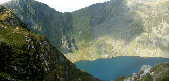 Paths to the summit of Cadair Idris
